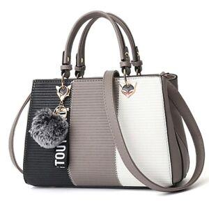Women PU Leather Handbag Party Ladies Shoulder Bag Messenger Crossbody Tote Bag