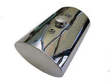 Oval Stainless Steel Oil Tank for Custom Motorcycles Harley Chopper Bobber