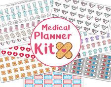 Nurse planner stickers, Medical planner, Scrubs, Nurse planner, happy planner