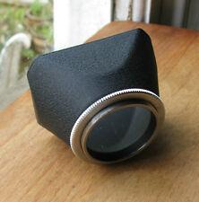 Ihagee 35.5mm screw in Lens Hood exakta