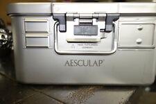 Aesculap Jk062r Sterilization Container Half Jk068r Lid Outside Dia 13x115x55