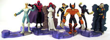 2001 Burger King X-Men Evolution Kid's Meal Toy Set ALMOST Complete