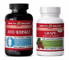 Immune system boost vitamins - ANTI WRINKLE – GRAPE SEED EXTRACT 2B COMBO - diet