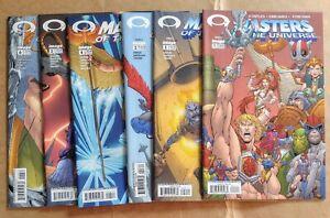 MASTERS OF THE UNIVERSE #1 2 3 4 5 6 Set -Image Comics- NM He-Man Netflix 🔥🔥
