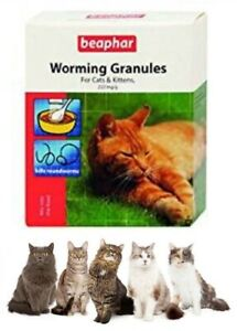 Beaphar Cat Worming Wormer Granules Powder Dewormer For Cats And Kittens