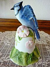 Reduced! Avon 2001 Bisque Porcelain Blue Jay Bell