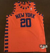 1aa26efc70c Rare Vintage Nike Rewind NBA New York Knicks Allan Houston Basketball Jersey