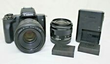Canon EOS M50 Mirrorless Digital Camera - 24.1 MP