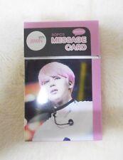 K-POP JIMIN BTS Bangtan Boys Photo Message Card Set 30pcs