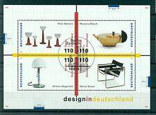 Allemagne -Germany 1998 - Michel feuillet n. 45 - Design en Allemagne **
