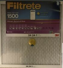 3M Filtrete Smart Air Heating And Cooling Filter 24x24x1 4 Pack