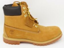 "Timberland Men's 6"" Premium Boot TB010061 Wheat Waterproof Leather Nubuck New"