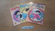 LOT DE 3 RANMA 1/2 / N° 4 5 ET 6  / VIZ SELECT COMICS /  BD MANGAS COMICS LIVRE
