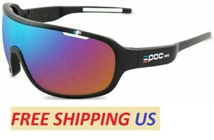 POC Outdoor Cycling Glasses Men Women Mountain Bike Goggles Bicycle Sunglasses