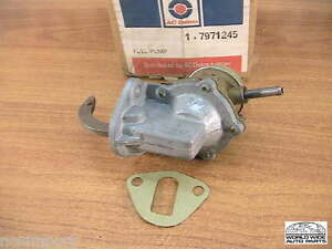 Saab 99 1.7  Fuel Pump  Genuine AC  7971245  NOS   1969-1972