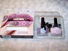 CIATE Caviar Manicure Multi Colour Pearls Strawberry Milkshake Paint Pots NEW