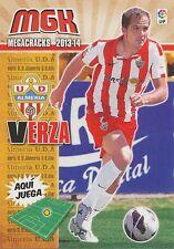 N°011 VERZA JOSE ANTONIO RABASCO # ESPANA UD.ALMERIA CARD PANINI MGK LIGA 2014