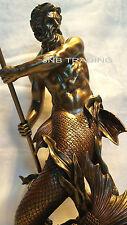 Poseidon Greek God Of The Sea Statue Sculpture Figurine Greek Mythology