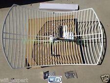 Alfa AGA-2424T 24dBi Grid Outdoor Super High Gain Booster with N Female Connect