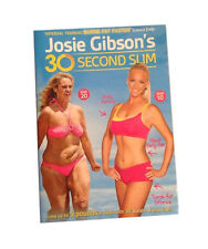 JOSIE GIBSON'S : 30 SECOND SLIM - FITNESS EXERCISE DVD IN VGC Lose Weight