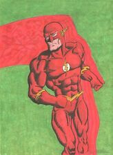 The Flash Color Commission - Signed original art by Charles Stidham