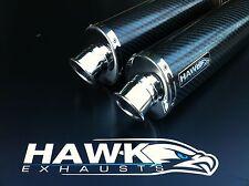 Hawk - Suzuki TL 1000 Carbon Oval Exhausts Cans
