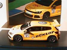VW VOLKSWAGEN SCIROCCO-R #21 R-CUP 2011 DUNLOP SPARK MODEL 1K8099300GF1F 1/43