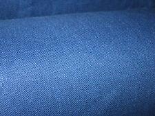 """10mts 60"""" Azul 100% tela de lino irlandés Nueva Versión"""