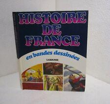 Histoire de france en bande dessinée.De Vercingetorix aux vikings.Larousse Z005