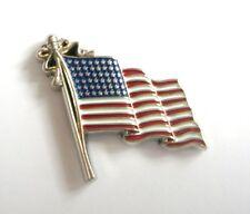 USA FLAG 3D (Badge émail/pin's)