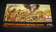 Rare Vintage Toy Soldiers 1983 ESCI Made Italy 8061 Japanese Imperial Guard Set