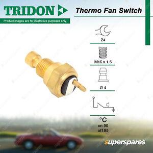 Tridon Thermo Fan Switch for Subaru Brumby DL Fiori Forester Impreza GX RX WRX