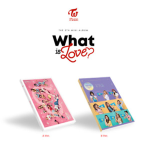 "K-POP TWICE 5th Mini Album ""WHAT IS LOVE"" [ 1 Photobook + 1 CD ] B VER"
