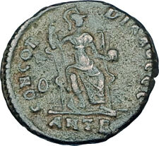 THEODOSIUS I the GREAT Genuine 378AD Antioch Authentic Ancient Roman Coin i65911