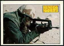 FA MAS 5.56mm Rifle #127 Desert Storm 1991 Merlin Sticker (C959)