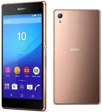 "Sony Xperia Z3 32GB 20MP 5.2"" 3GB 4G LTE - Imported Unlocked Smartphone copper"