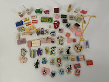 Lot Pencil Erasers Disney Mickey Pink Panther Coke cola Snoopy Smurf's Vintage