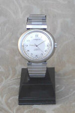 LARGE SUPERFACTO JI JEAMBRUN 26D STAINLESS 17J RACING WATCH  MONTRE FRANCE MINT