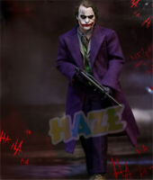 Batman:The Dark Knight Joker Heath Ledger Movable Action Figure Model Statue New