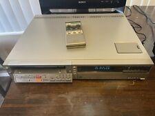 RARE Vintage Sony Betamax Player SL-2500 with Remote Control