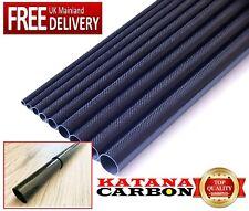 1 x 3k Carbon Fiber Tube OD 19.7mm x ID 18mm x 1000mm (1 m) (Roll Wrapped) Fibre