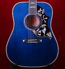 Gibson Limited Edition Hummingbird Custom Viper Blue Acoustic Guitar w/Case