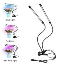 80W 4 Head LED Grow Light Plant Light Panel Growing Plant Veg Flower Indoor Lamp