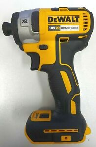 Dewalt Brushless Skin Only Impact Driver DCF887-XE  - Bids from $1.00