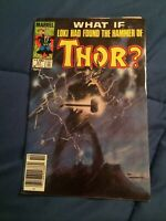 What If? #47 Loki Had Found Thor's Hammer Newsstand [Marvel Comics, 1984]