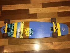 Kryptonics Skateboard 072QR ~ 36 Inch ~ Ocean Blue ~ Beach Theme ~Complete Board