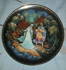 USSR/Russian The Legend of SNOWMAIDEN Porcelain Collector Plate SONG OF LOVE 1.4