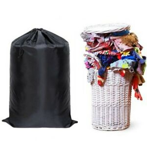 Durable Extra Large Heavy Duty Laundry+Bag Sack With Drawstring Commercial Style