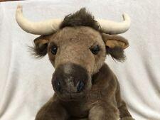 "Longhorn, Stuffed Plush Animal, 23"" Long, ""REDUCED """