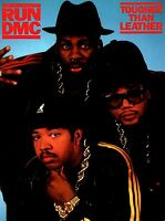 RUN DMC 1987 TOUGHER THAN LEATHER TOUR CONCERT PROGRAM BOOK BOOKLET / NMT 2 MINT